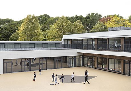 Groupe scolaire, Nord Sud Evolution, Cergy